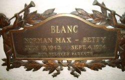 Betty Bertha <i>Bernstein</i> Blanc