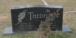 Betty Jo Thedford