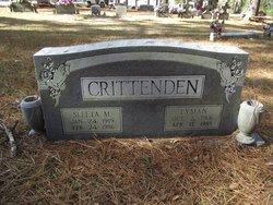 Sleeta M <i>Peters</i> Crittenden