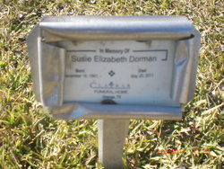 Susie Elizabeth <i>Lawrence</i> Dorman