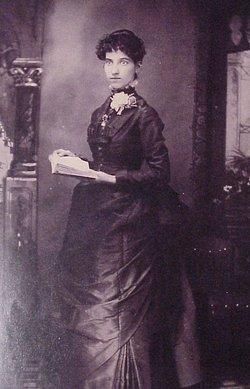 Jennie E. <i>Wellman</i> Adams