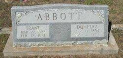 Lillie Dometra Maud <i>Brock</i> Abbott