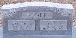 Lola Jewell <i>Bates</i> Elder
