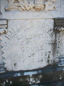Hallie B <i>Cooke</i> Caldwell