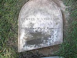 Pvt Samuel W. Anderson