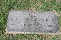 Cecil Wilbur Anders