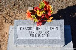 Gracie June <i>Lewis</i> Ellison