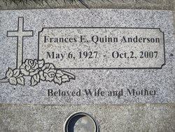 Frances Edith Anderson