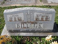 Margaret <i>Ragsdale</i> Billeck