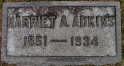 Harriet Artesia <i>Wickliffe</i> Adkins