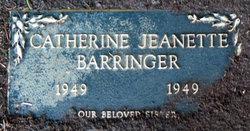 Catherine Jeanette Barringer