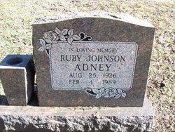 Ruby Johnson Adney