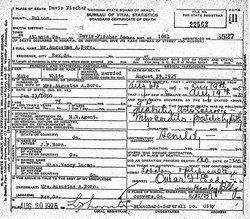 Augustus Alfonzo Born