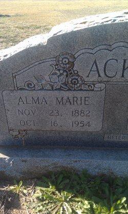 Alma Marie <i>Real</i> Ackermann