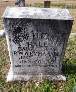 Irene Elizabeth Hall