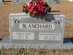 Mary Hortense <i>Ennis</i> Blanchard