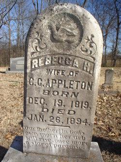 Rebecca H. <i>Milam</i> Appleton