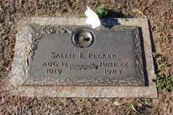 Sallie Elizabeth <i>Milford</i> Felker