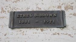Ethel B. Brown