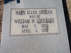 Mary Ellen <i>Sheram</i> Lockhart