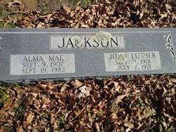 Alma Mae <i>Webb</i> Jackson
