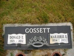 Donald Ernest Don Gossett