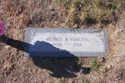 Mildred May <i>Osborn</i> Hamilton