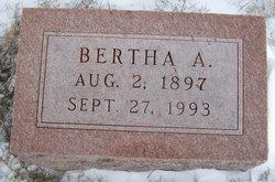 Bertha A Ogden