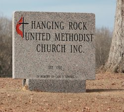 Hanging Rock United Methodist Church Cemetery