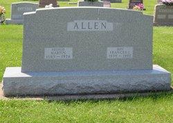 Frances L <i>Sincock</i> Allen