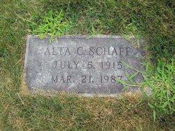 Alta Katherine <i>Chaloupka</i> Schaff