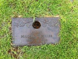 Mildred T. C. Millie <i>Thornton</i> Miller