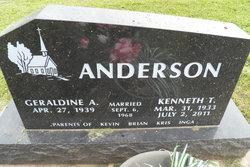 Geraldine A. Anderson