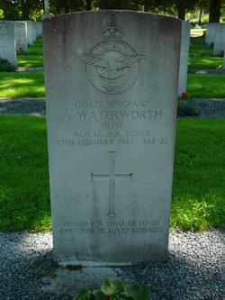 Sergeant ( Pilot ) Albert A Waterworth