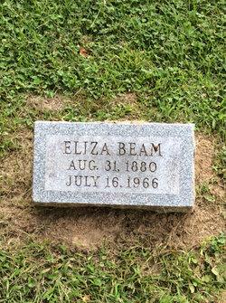 Eliza Jane <i>Crabtree</i> Beam