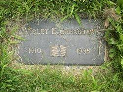 Violet <i>Hamann</i> Crenshaw
