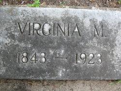 Virginia M Baker