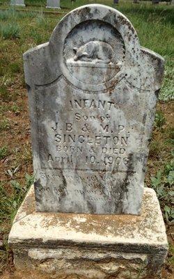 Infant Son Singleton