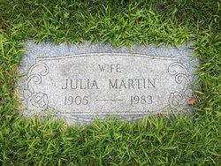 Julia <i>York</i> Martin