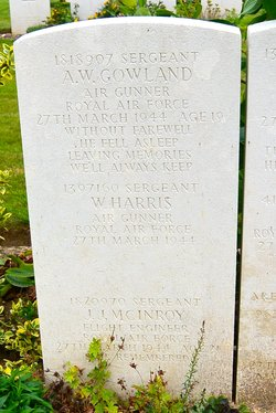 Sgt Alfred William Gowland