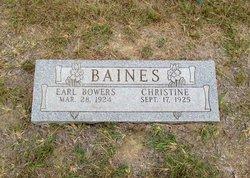 Christine <i>Gressett</i> Baines