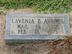Myrtis Lavenia <i>Burns</i> Avants