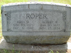 Albert W. Roper