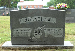 Lorene Mary Holsclaw