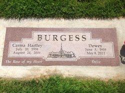 Carma Beth <i>Hartley</i> Burgess