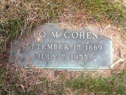 Moses Louis Leo Cohen