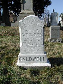 Harriet E Hattie <i>Williamson</i> Caldwell