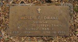 Moses F Drake