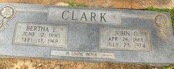 Bertha E Clark