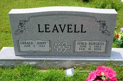 Syble Lucille <i>Burgess</i> Leavell